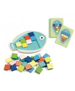 Stapelblokken 10 Cubes Forest - Djeco