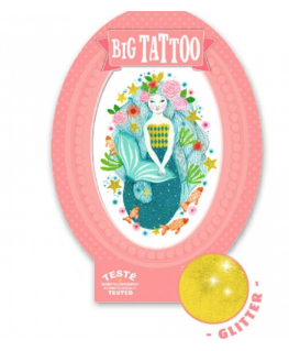 Big Tattoo Aqua Blue - Djeco