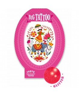 Big Tattoo Rose India - Djeco