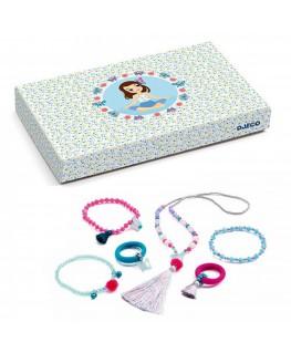Juwelen met pompons en vlinders +5j - Djeco