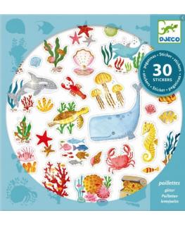 Makkelijk te pakken Stickers van Babydieren +18mnd - Djeco
