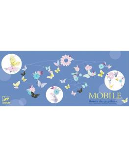 Mobiel ronde vlinders - Djeco