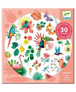 Stickers paradise 4-8j - Djeco