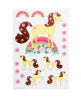 Muursticker: Paard - A little lovely Company