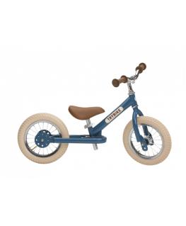 Loopfiets Staal Vintage Blauw - Trybike