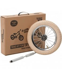 Steel trike kit - vintage edition white - Trybike