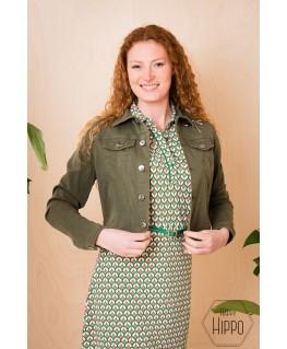 Jacket Frances Khaki - Vila Joy