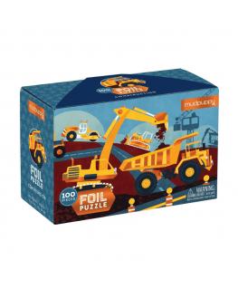 Foil puzzel Construction 100 stukken - Mudpuppy