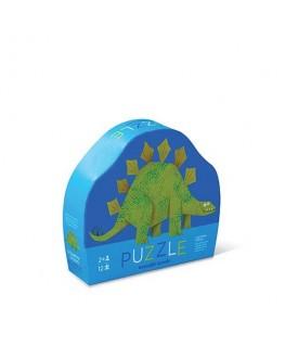 Puzzel Stegosaurus 12 stukken +2y - Crocodile Creek
