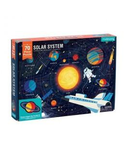 Puzzel Solar system 70 stukken +6y - Crocodile Creek