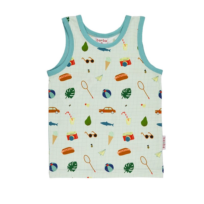 Polo shirt Kaki jacquard front - Ba*Ba babywear - Happy Hippo