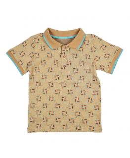 Knitted shirt licht roze front - Ba*Ba babywear - Happy Hippo