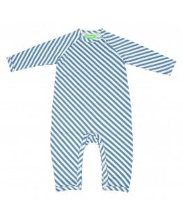 Gerard babysuit diagonal Stripes - Lily Balou