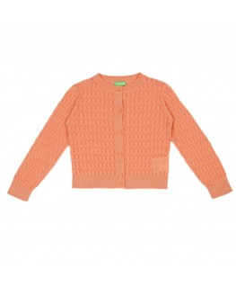 Sweater sybille mustard velours - Froy&Dind front
