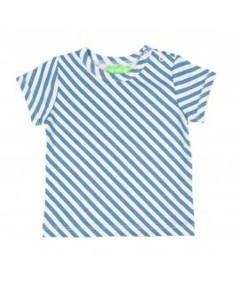 Kas Baby T-shirt Diagonal Stripes - Lily Balou