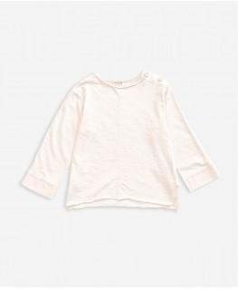 Flamé Jersey LS T-shirt natural - Play Up