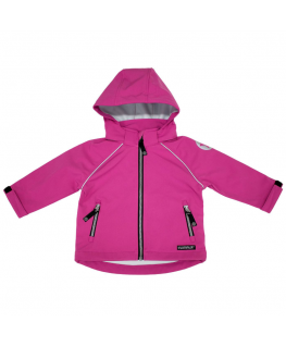 Softshell jacket raspberry - Villervalla
