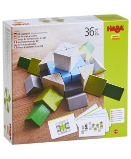 3D compositiespel Blokkenmozaïek Nordic 3-99j  - Haba
