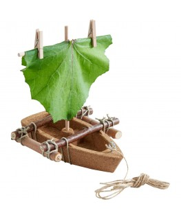 Zomerhoedje Antigua Camo Green - Barts