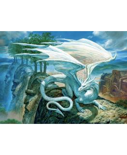 Cobble Hill puzzle 500 pieces - White Dragon