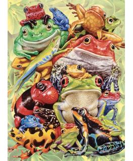 Cobble Hill family puzzle 350 pieces - Frog Pile