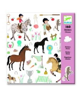 Stickers Paarden 4-8j - Djeco