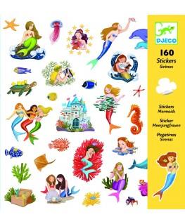 Stickers Zeemeerminnen 4-8j - Djeco