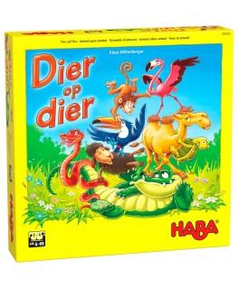 Spel - Dier op dier - Het wankele stapelspel - 4-99j - Haba